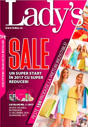 Cosmetice Ladys primul catalog pe 2017